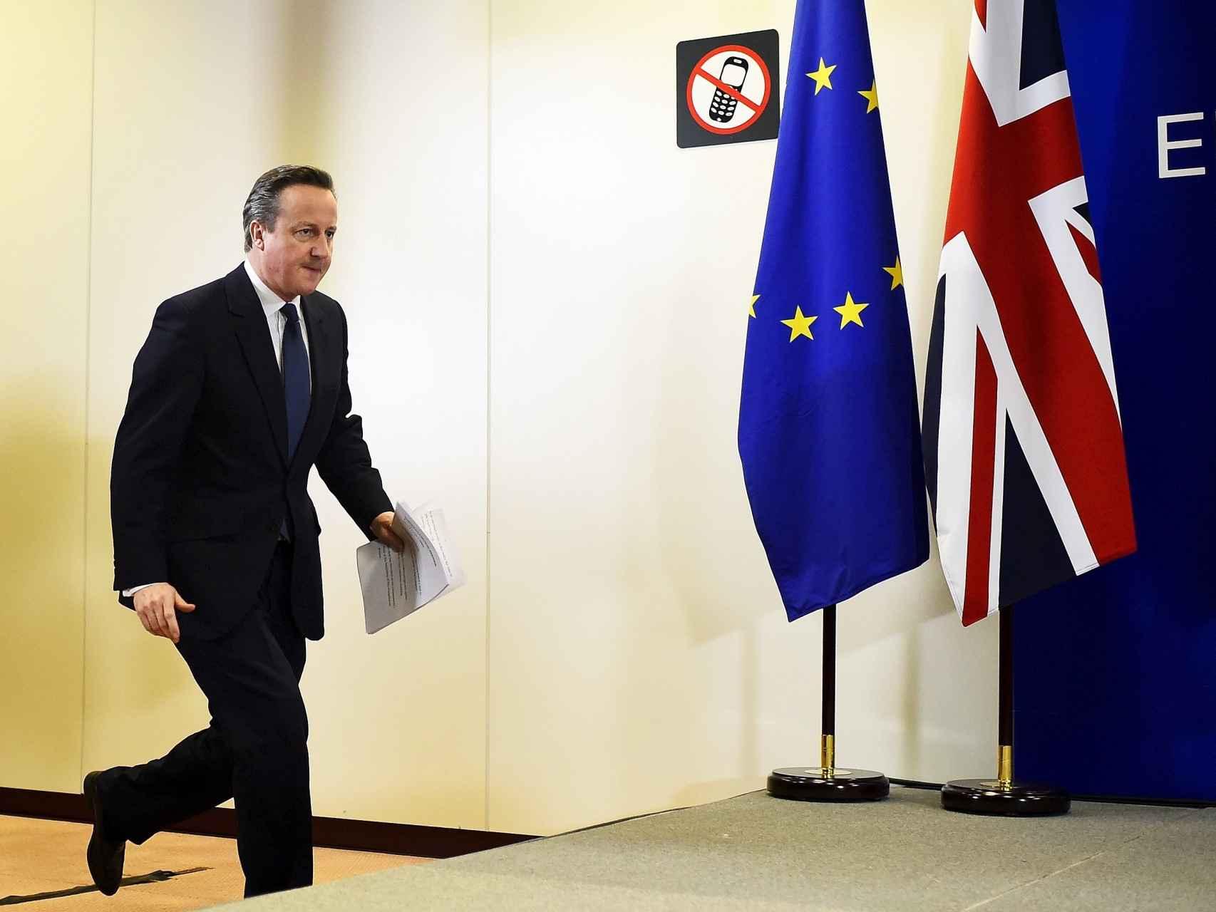 El primer ministro británico David Cameron/Dylan Martinez/Reuters