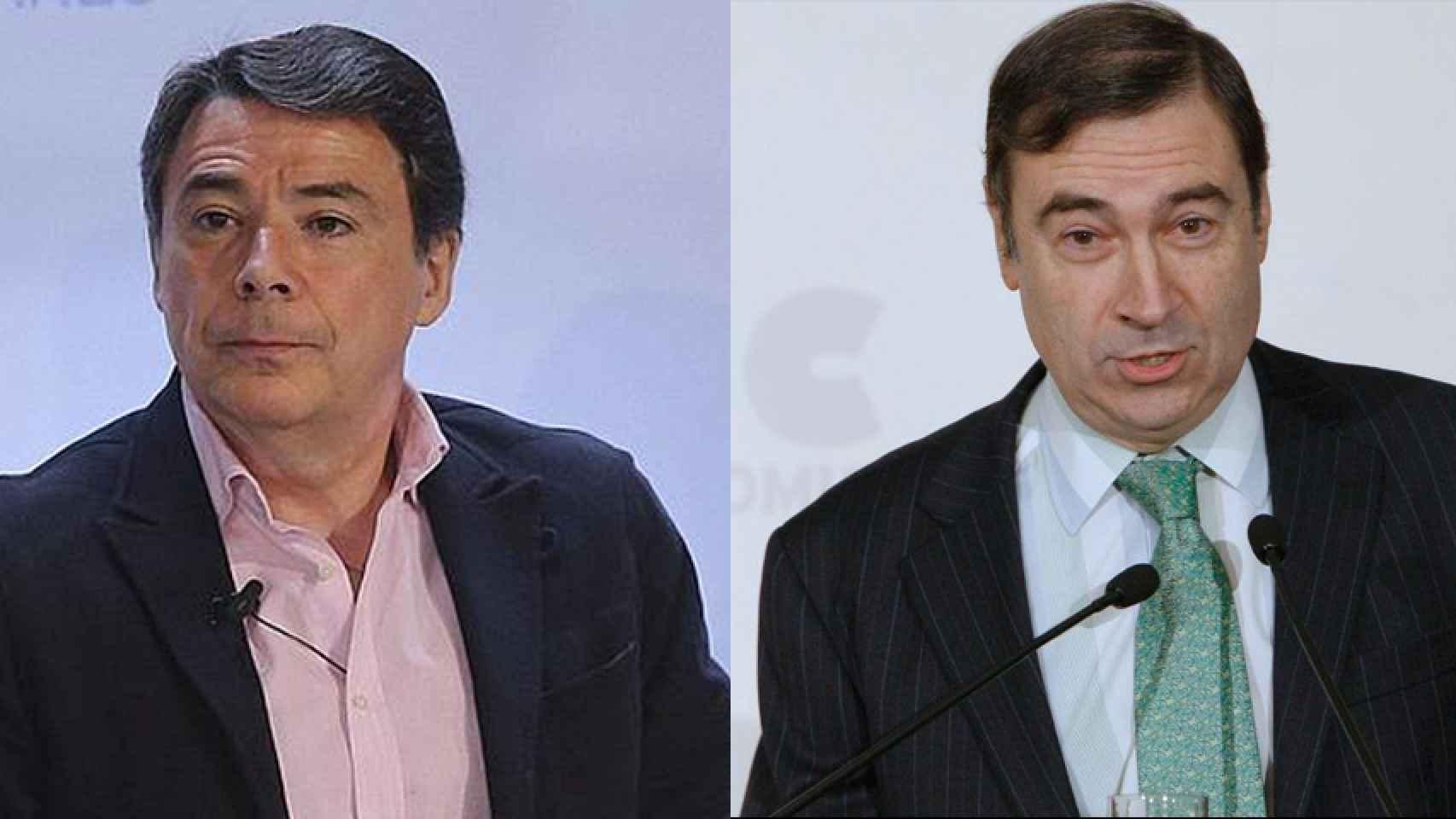 Ignacio González y Pedro J. Ramírez