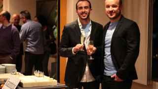 Antonio Rami y Philippe Gelis, los dos fundadores de Kantox.