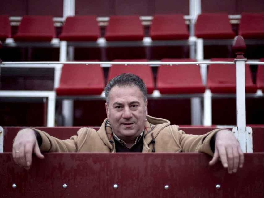 José Luis Bote, extorero y uno de los directores de la escuela
