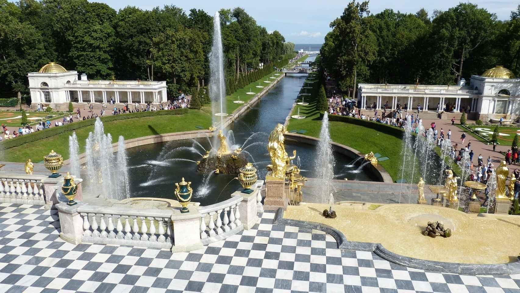 San Petersburgo, la capital de los zares.