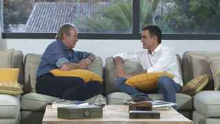 Bertín Osborne entrevista a Pedro Sánchez en el programa En tu casa o en la mía.