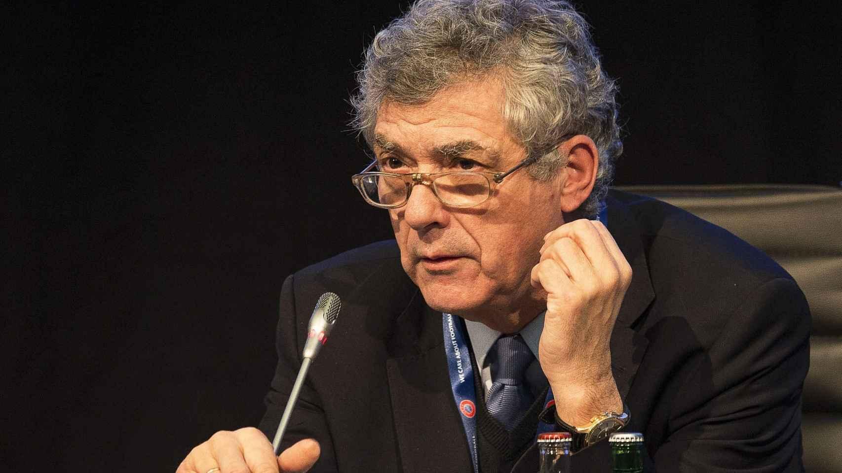 Ángel María Villar, presidente de la Federación Española de Fútbol.
