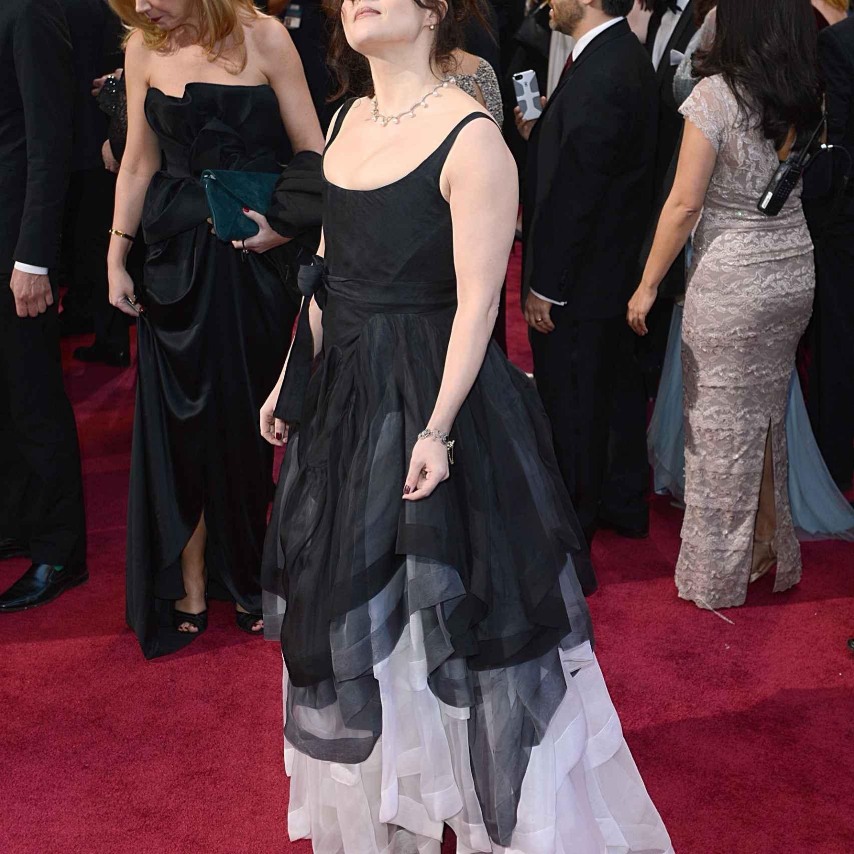 Helena Bonham Carter en los Oscar de 2013