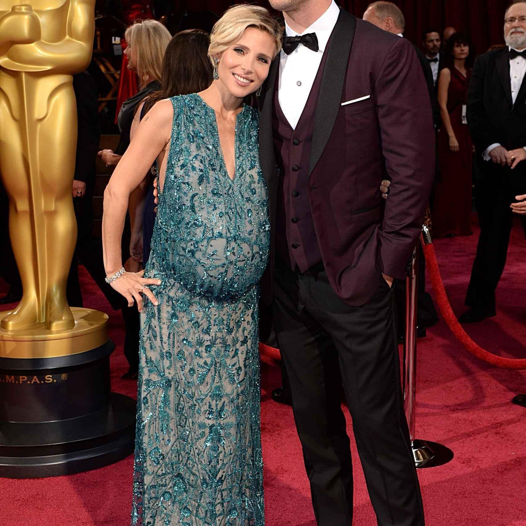 Elsa Pataky y su marido Chris Hemsworth en la alfombra roja