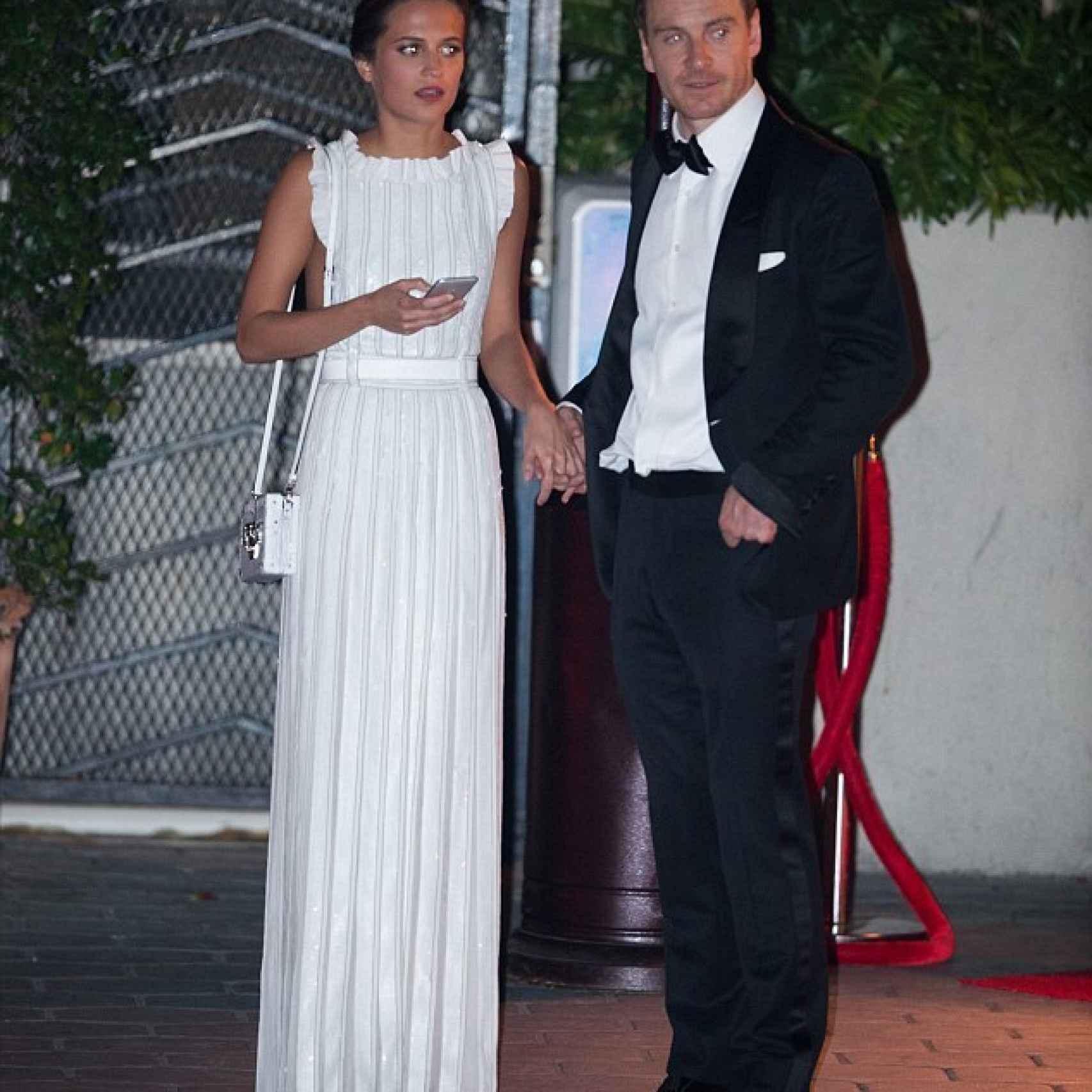 Alicia Vikander y Michael Fassbender son pareja y ambos están nominados