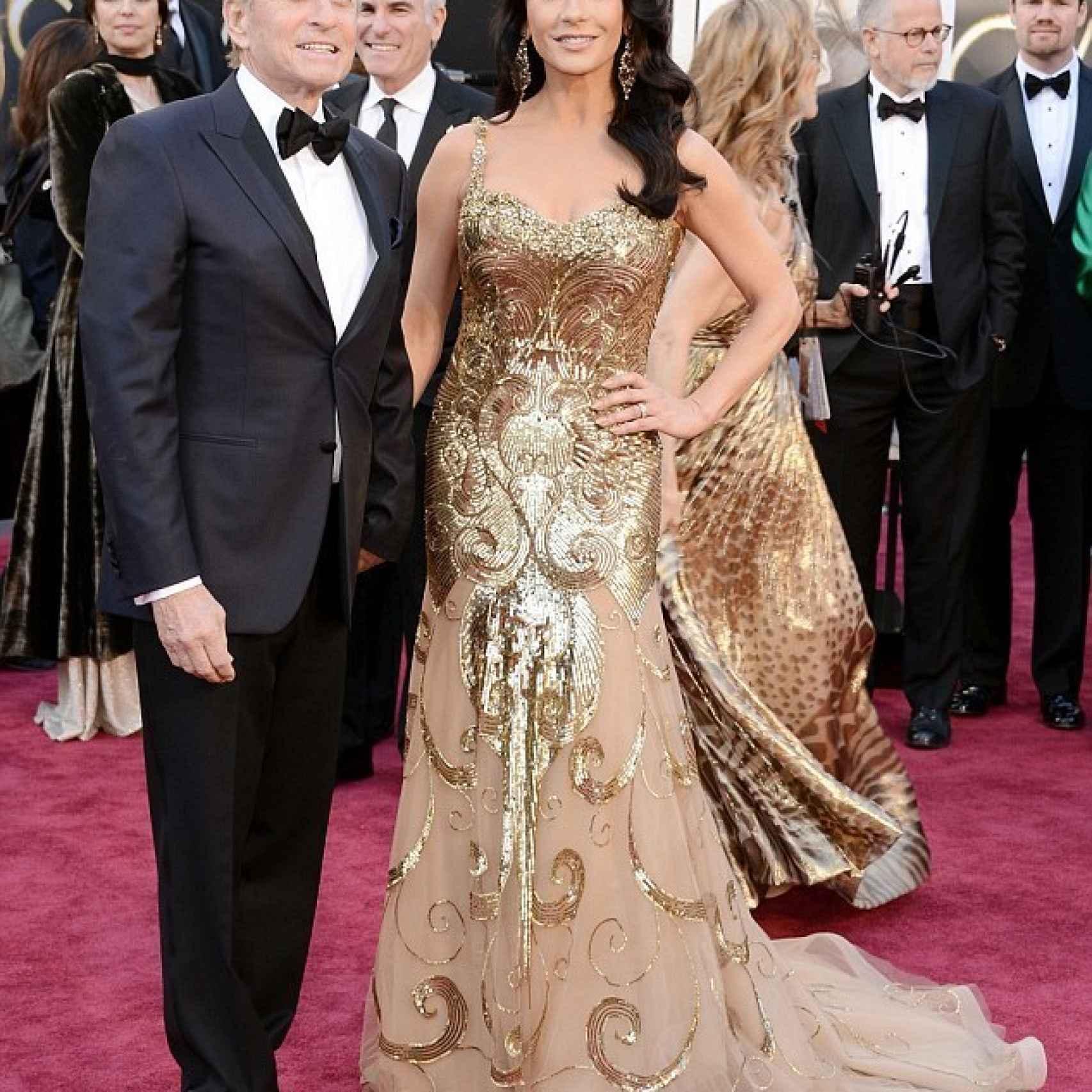 Michael Douglas y su mujer Catherine Zeta -Jones