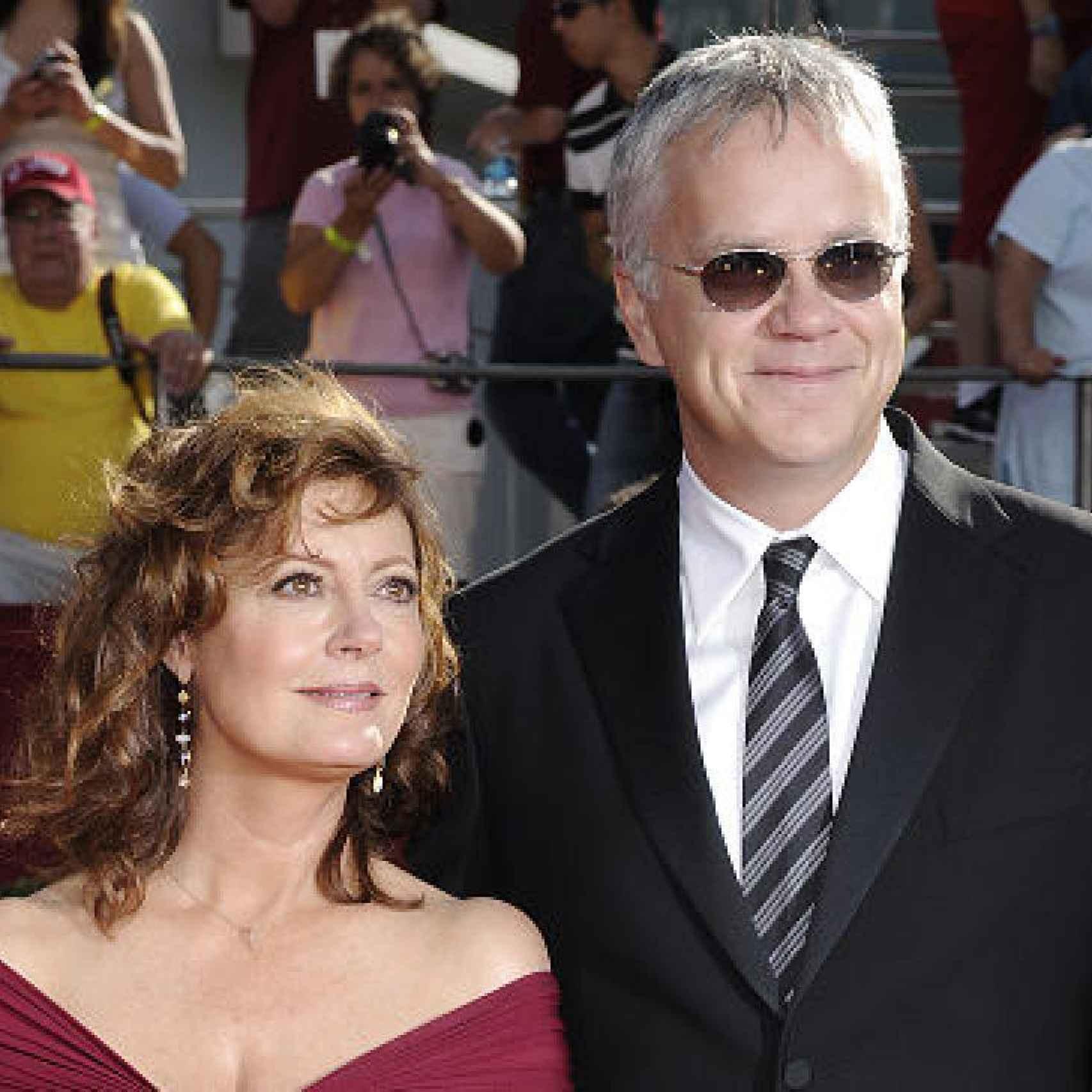 Susan Sarandon y Tim Robbins ya están separados pero formaban un matrimonio muy galardonado