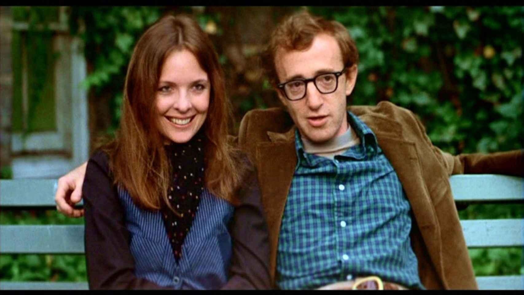 Diane Keaton y Woody Allen se separaron pero antes ganaron un Oscar