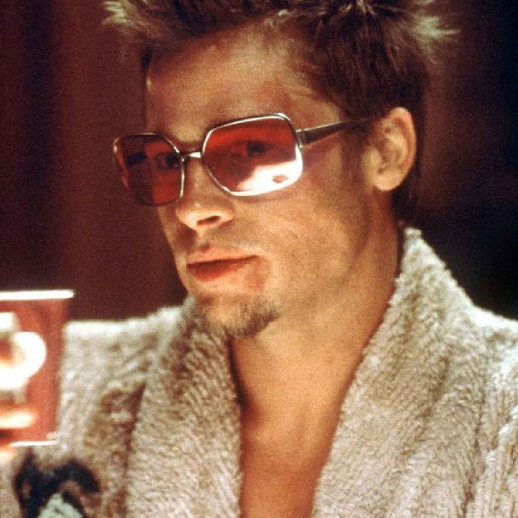 Brad Pitt en la película El Club de la lucha