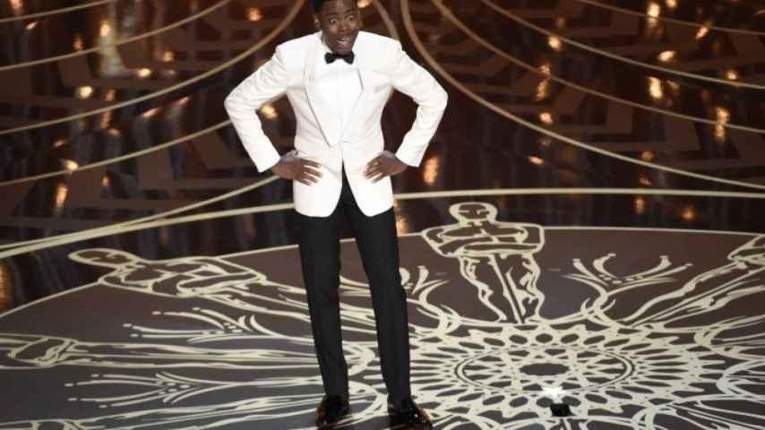 Chris Rock, durante su discurso al inicio de la gala