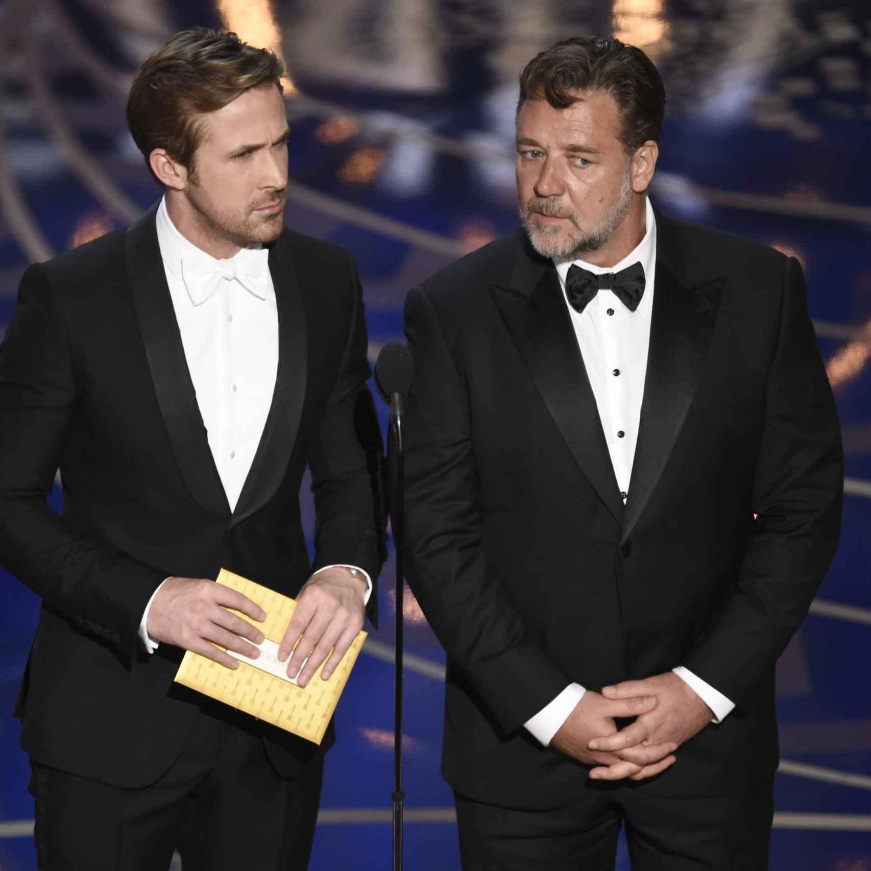Ryan Gosling y Russell Crowe han dado una lección de estilo