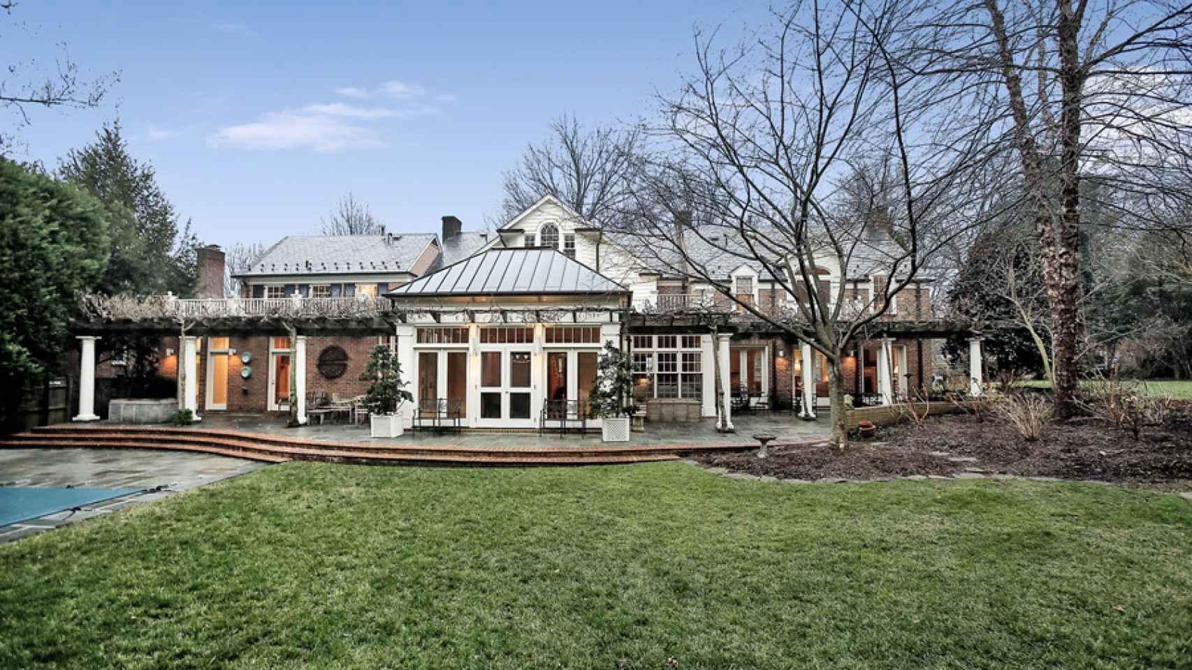 La vivienda utilizada por el matrimonio Urdangarin en EEUU.