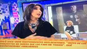 Paz Padilla critica a Malú en 'Sálvame'.