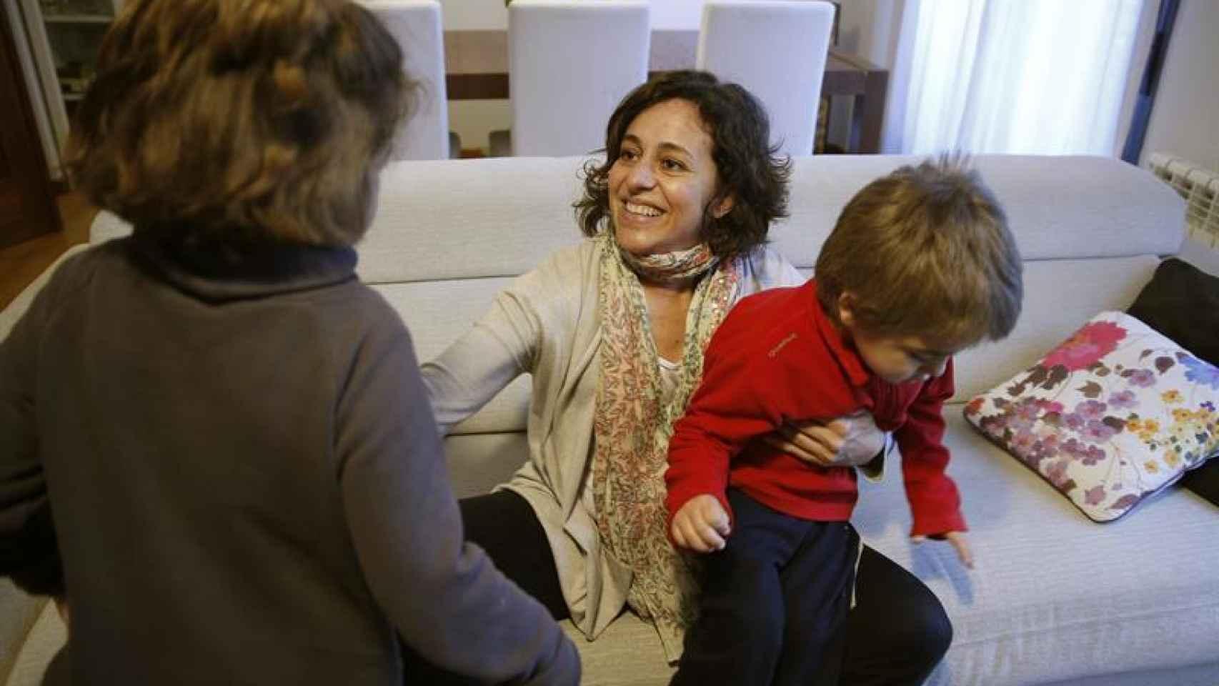 Manuela y Pablo, dos hermanos afectados por el Síndrome de Sanfilippo.