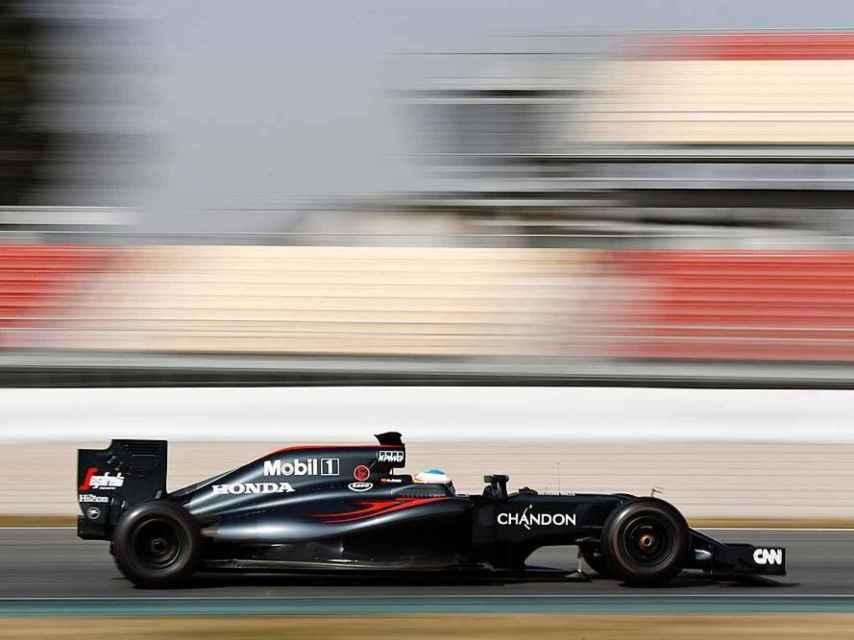 Monoplaza de Fórmula 1 McLaren-Honda MP4-31 para la temporada 2016.