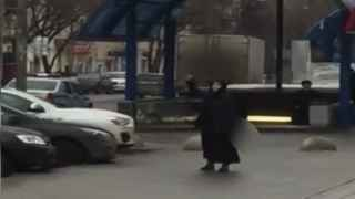 Captura de un vídeo de Russia Today sobre la presunta asesina.