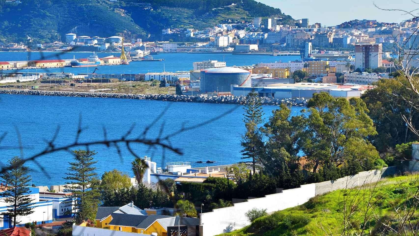 Vista aérea de Ceuta.