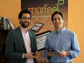 Los dos fundadores de Marfeel.