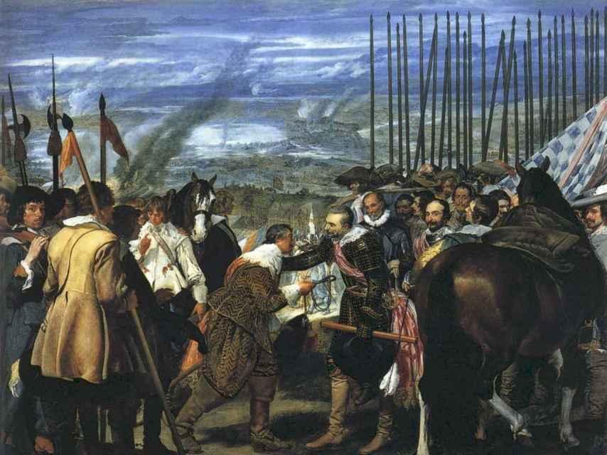 La rendición de Breda o Las lanzas, por Diego Velázquez.