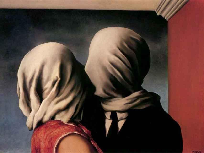 Los amantes, cuadro de René Magritte.