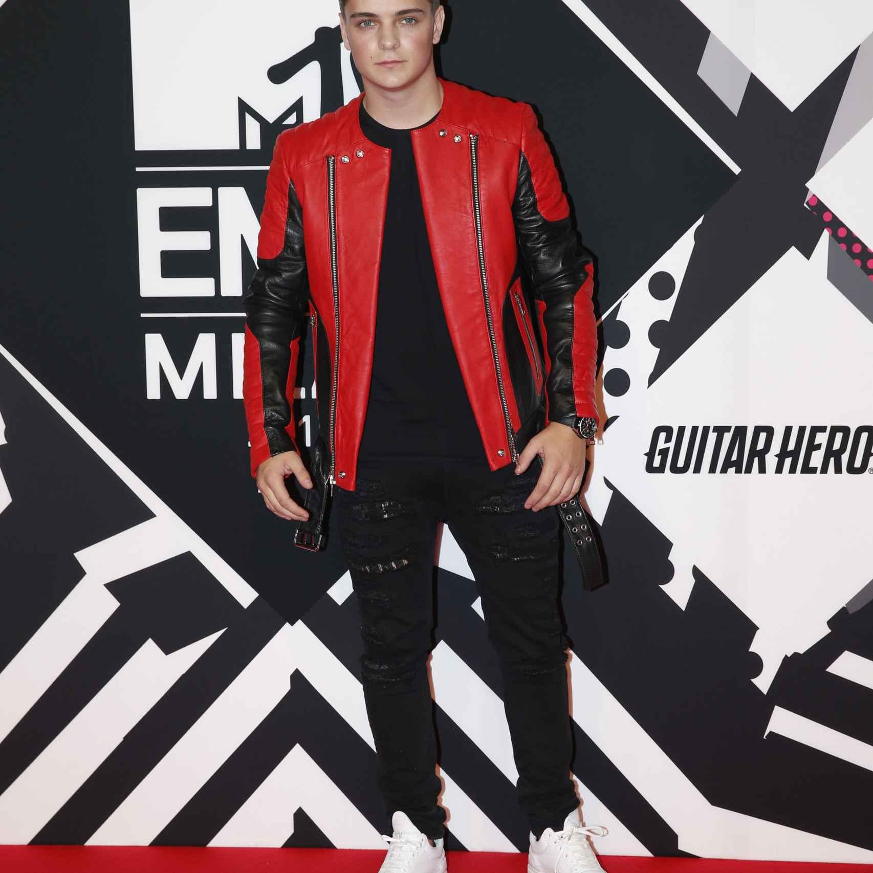 Martin Garrix en los premios EMA de Mtv