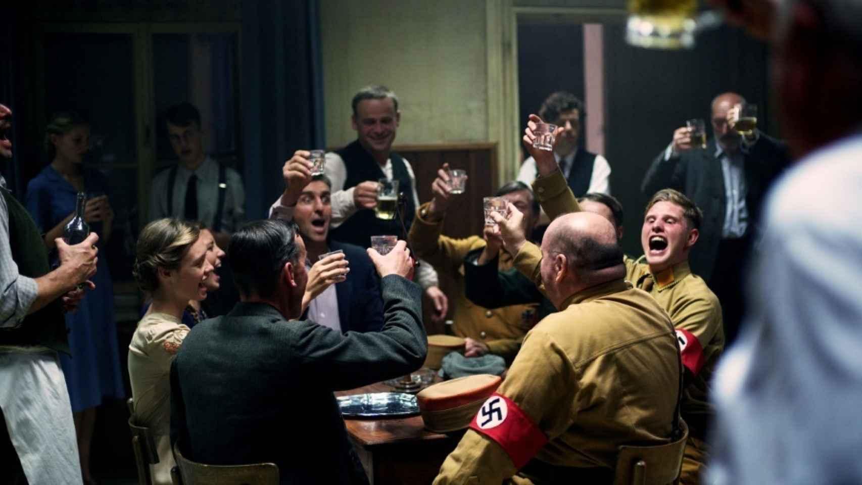 Escena de 13 minutos para matar a Hitler.