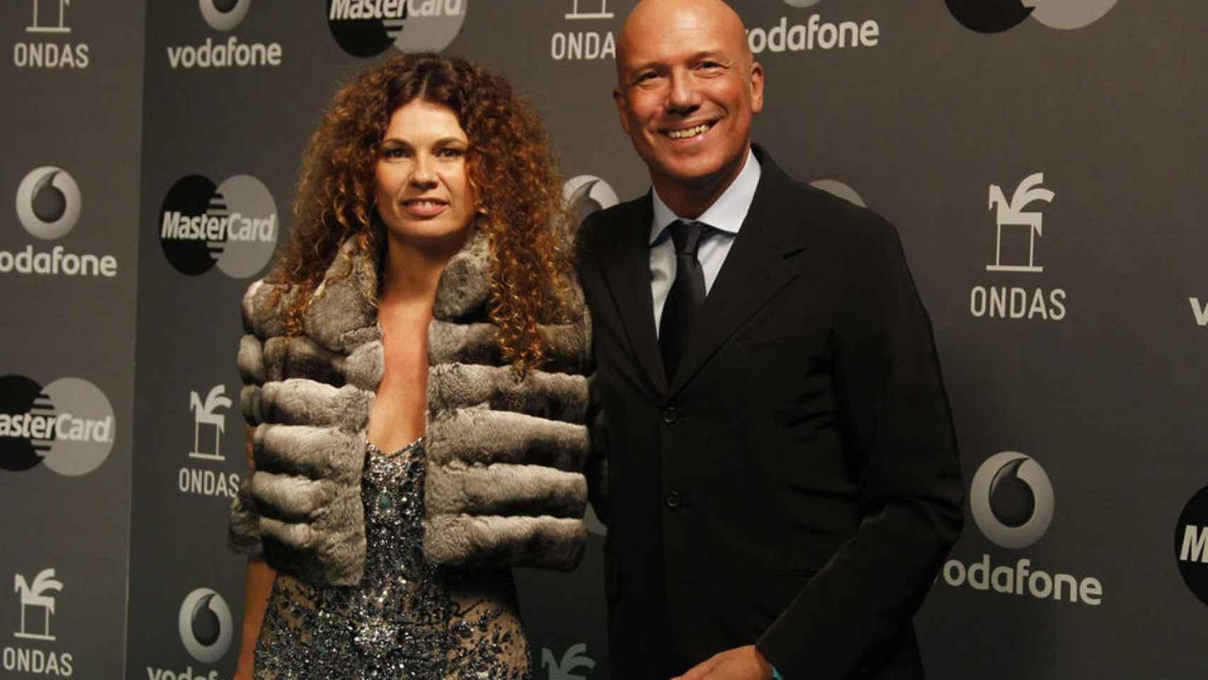 Angie Cárdenas y Alfonso Arús en una imagen reciente