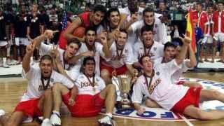 La selección júnior se proclamó campeona del mundo en el Lisboa 1999 ante EEUU.