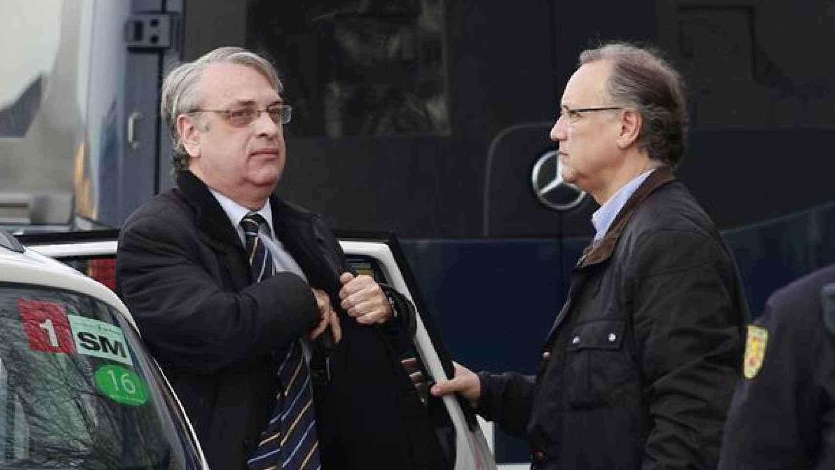 Miguel Tejeiro, a la izquierda, junto a su hermano Marco Antonio Tejeiro.