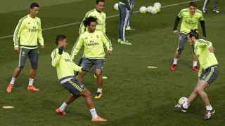 Enntrenamiento del Real Madrid, 4 de marzo.