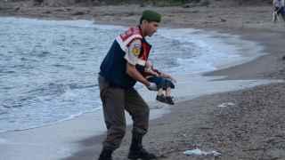 La imagen del cadáver de Aylan se convirtió en un símbolo de la crisis de refugiados