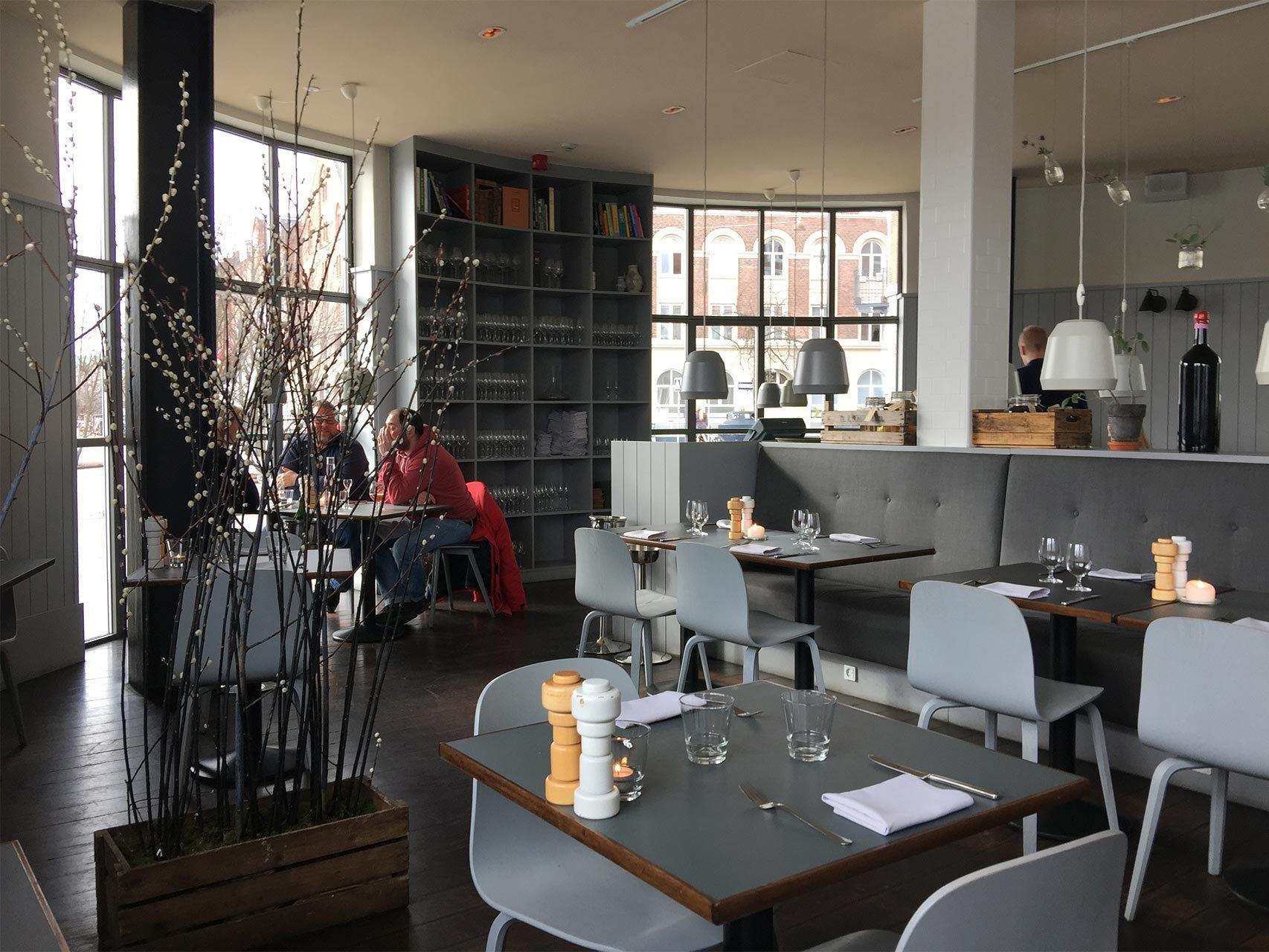 El restaurante Almanak.