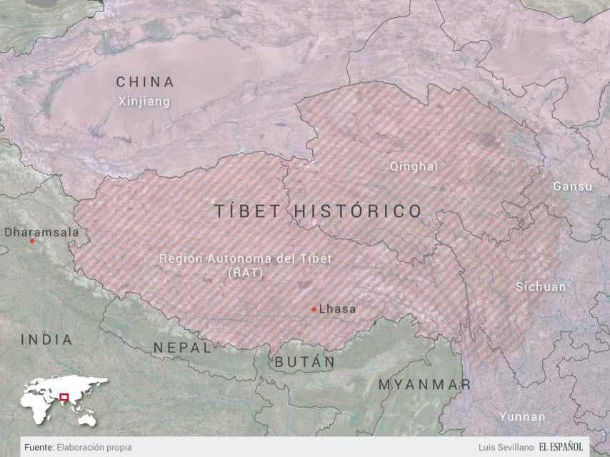 Imperio histórico tibetano.