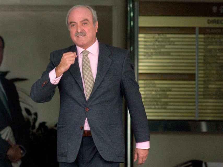 El anterior jefe de la Casa del Rey, Fernando Almansa.