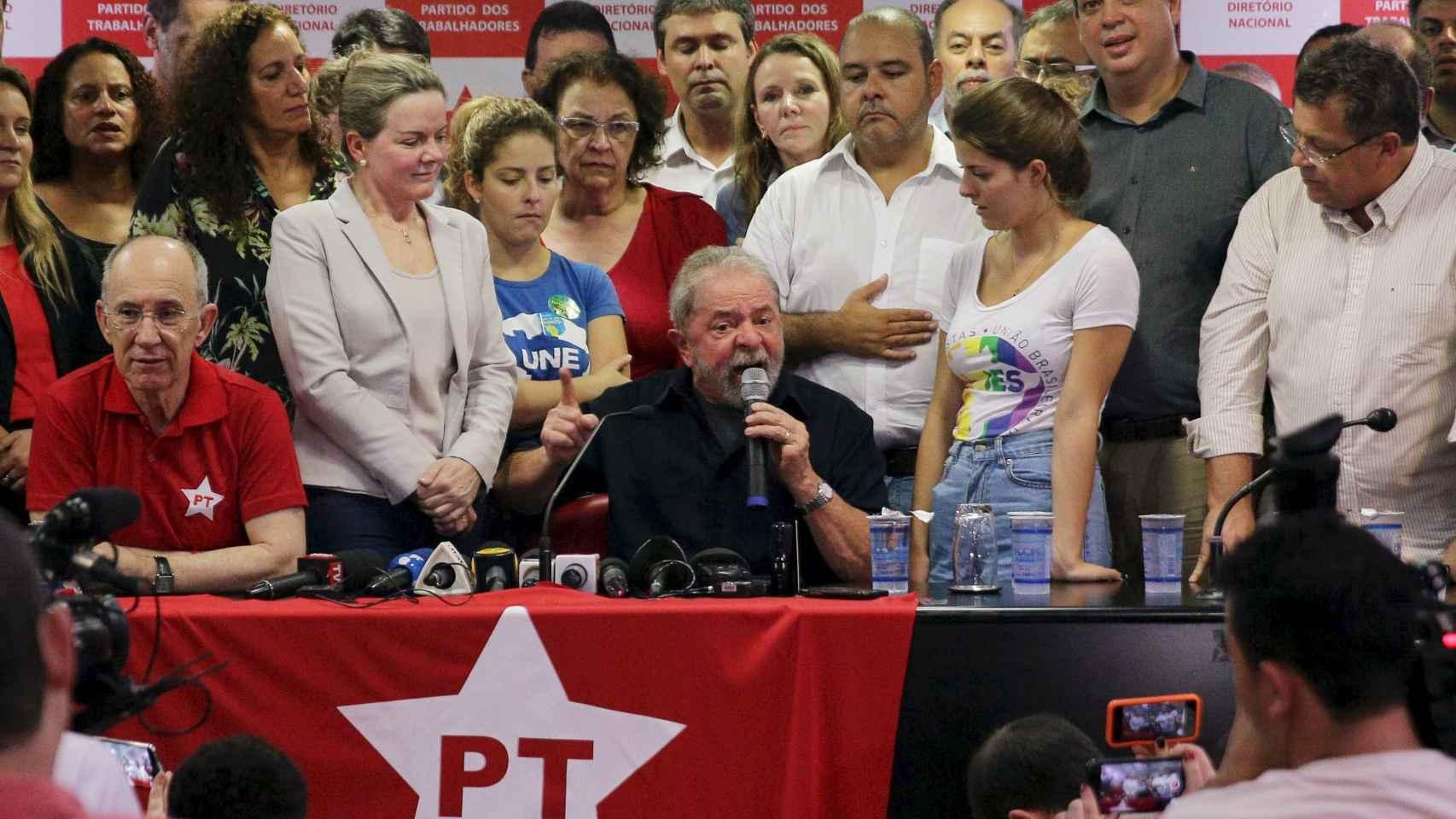 Lula llama a la operación un espectáculo mediático.