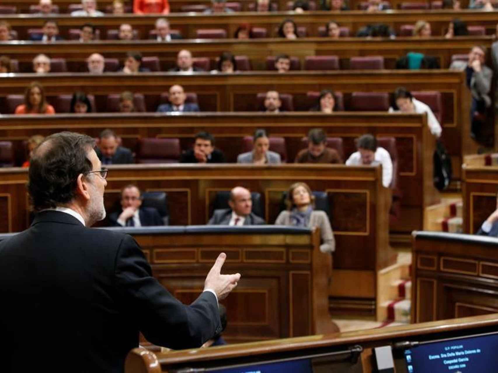 El presidente del Gobierno en funciones, Mariano Rajoy/Zipi/EFE