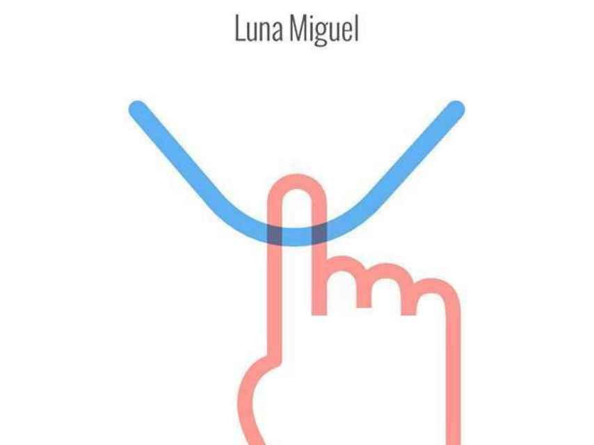 Esta es la portada de 'El dedo', el último libro de Luna Miguel