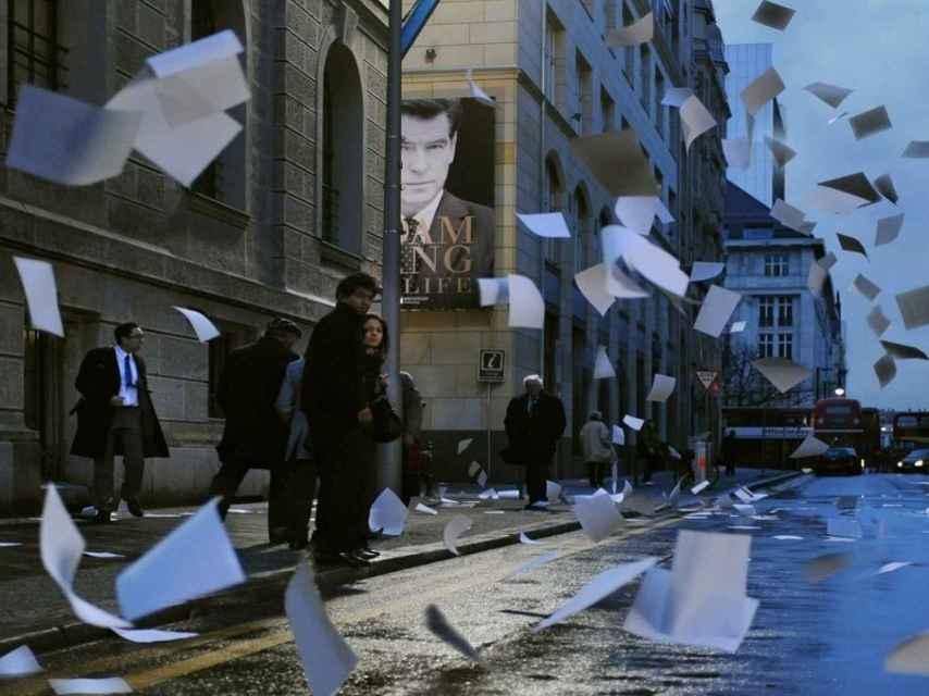 Fotograma de The Ghost Writer, de Roman Polanski