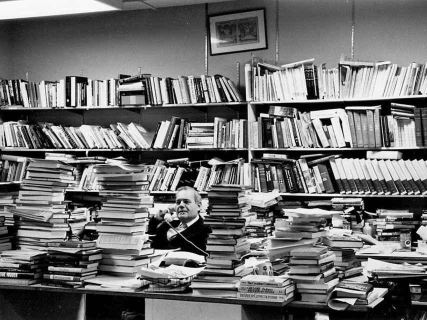 Redacción de 'The New York Review of Books', en 1963.