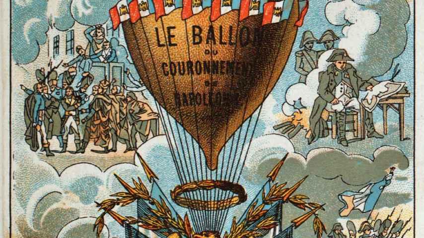 Globo conmemorativo de la coronación de Napoleón.