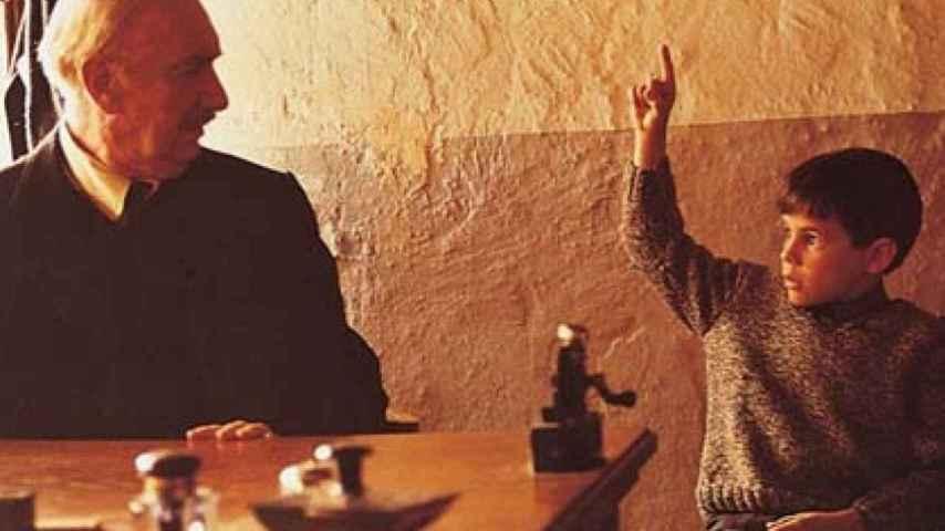 Fotograma de la película 'La lengua de las mariposas'
