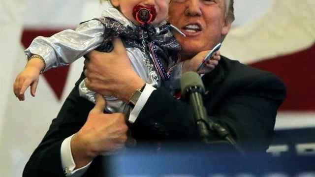 Donald Trump, en un discurso en Nueva Orleans este viernes.