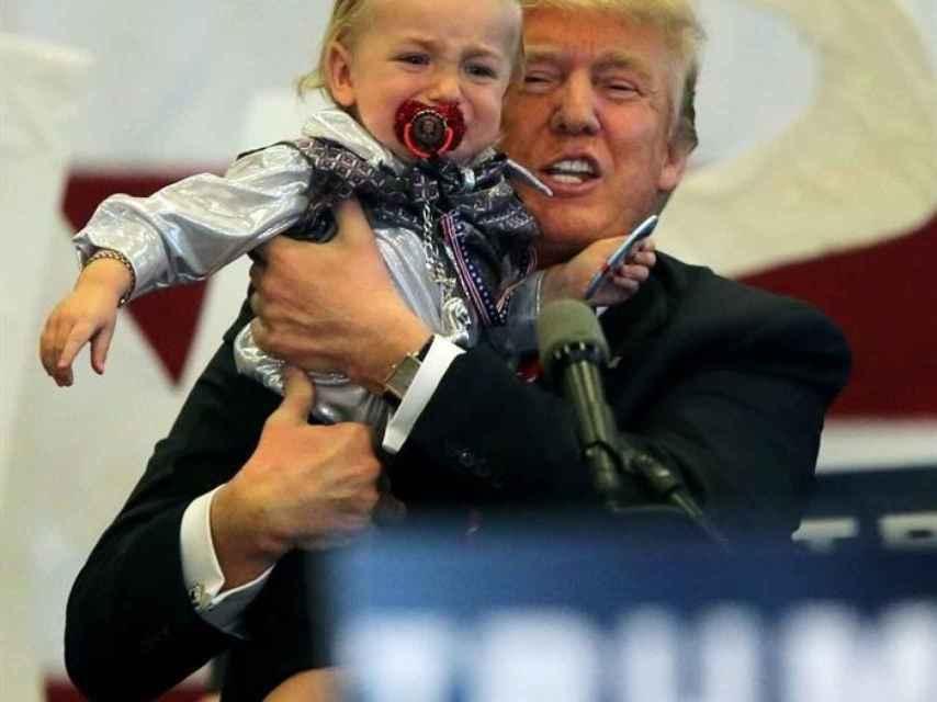 Donald Trump, en un discurso en Nueva Orleans.
