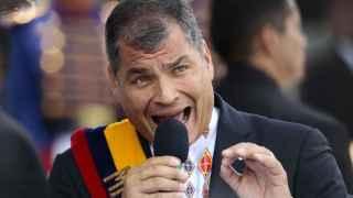 Rafael Correa, presidente de Ecuador, en una imagen de archivo.