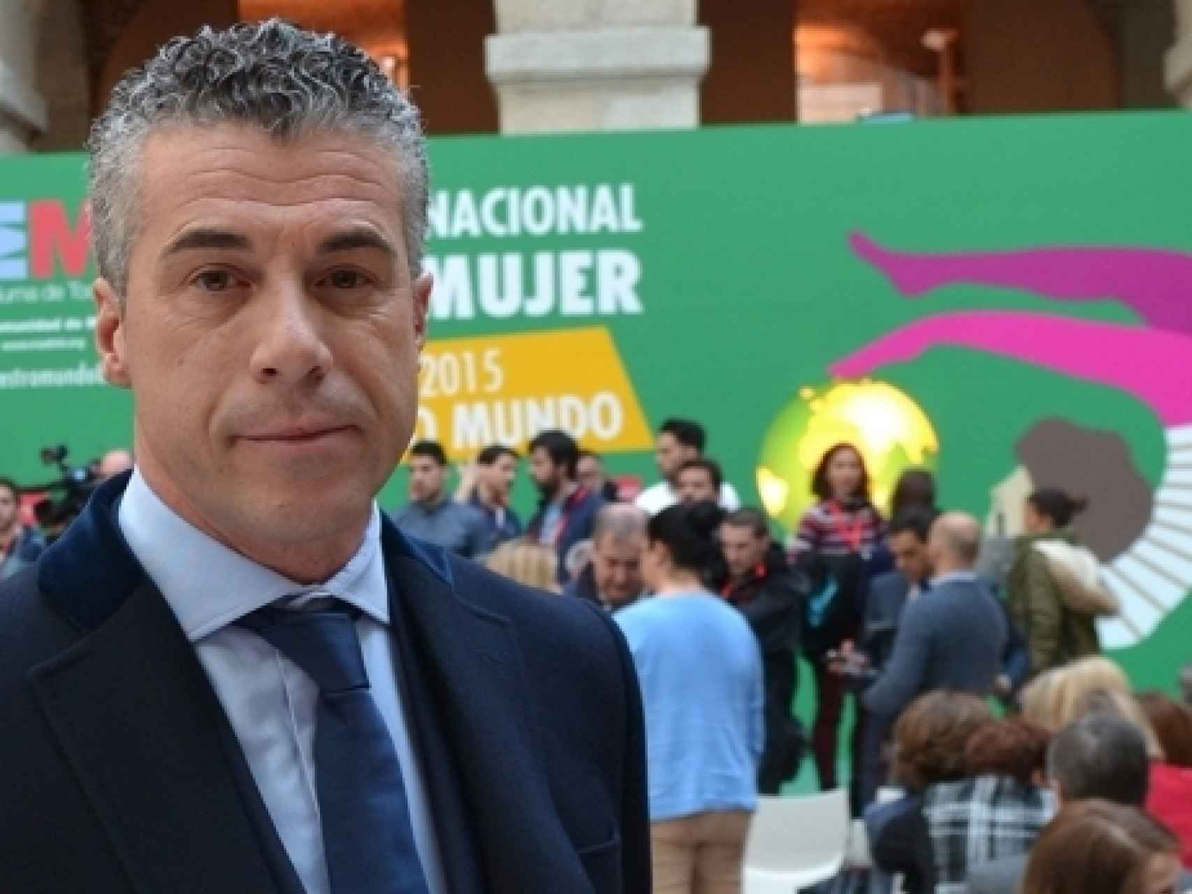 El exalcalde de Moraleja de Enmedio, Carlos Estrada.