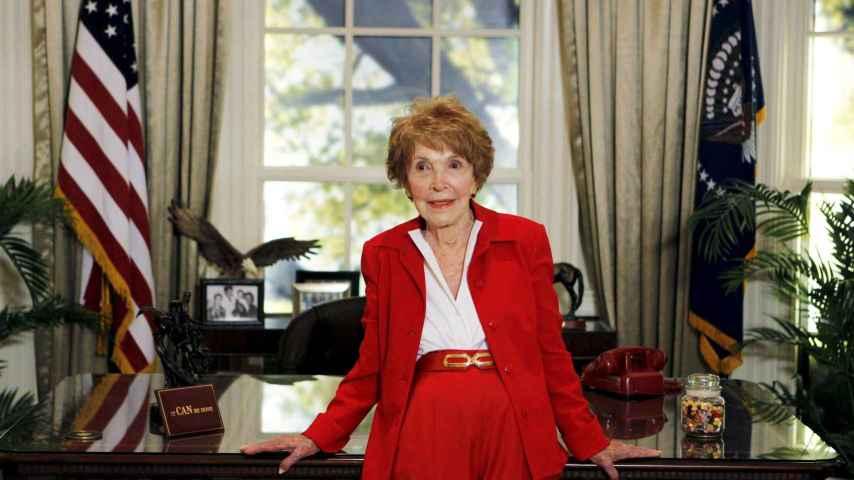 Nancy Reagan, en 2011