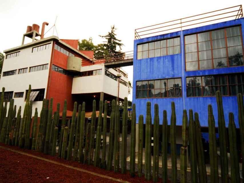Casa Museo de Frida Kahlo y Diego Rivera al sur de la Ciudad de México