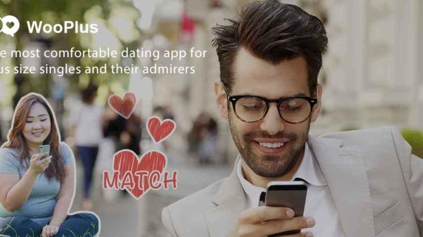 WooPlus, la nueva app de citas para tallas grandes