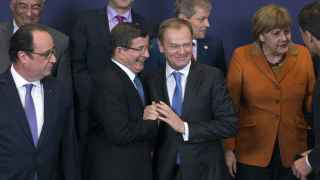Foto de familia de la cumbre UE/Turquía